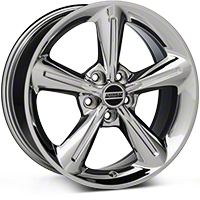 Chrome 2010 OE Style Wheel - 18x8 (05-14 GT, V6) - AmericanMuscle Wheels 28254