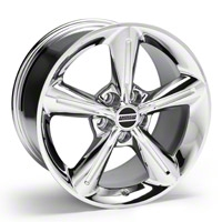 Chrome 2010 OE Style Wheel - 18x10 (05-14 GT, V6) - AmericanMuscle Wheels 28257