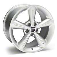 Silver 2010 OE Style Wheel - 18x10 (05-14 GT, V6) - AmericanMuscle Wheels 28258