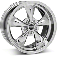 Deep Dish Bullitt Chrome Wheel - 18x10 (94-04 All) - American Muscle Wheels 28271