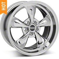 Chrome Deep Dish Bullitt Wheel - 18x10 (94-04 All) - AmericanMuscle Wheels 28271