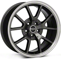FR500 Style Anthracite Wheel - 18x9 (94-04) - American Muscle Wheels 28274G94