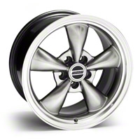 Hypercoated Bullitt Wheel - 17x9 (94-04 All) - AmericanMuscle Wheels 28276