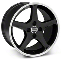 1995 Cobra R Style Black Wheel - 17x10 (87-93; Excludes 93 Cobra) - American Muscle Wheels 28310