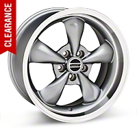 Deep Dish Bullitt Anthracite Wheel - 18x10 (05-14 GT, V6) - American Muscle Wheels 28266