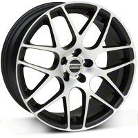AMR Matte Black Machined Wheel - 18x8 (94-04 All)
