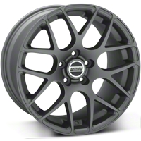 AMR Charcoal Wheel - 18x10 (05-14 All) - American Muscle Wheels 28333