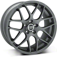 Charcoal AMR Wheel 19x9.5 (05-13 All) - American Muscle Wheels 28339