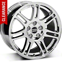 10th Anniversary Style Cobra Chrome Wheel - 17x9 (05-14 GT, V6)