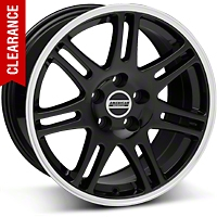 10th Anniversary Style Cobra Black Wheel - 17x9 (05-14 GT, V6)
