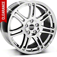 10th Anniversary Cobra Style Chrome Wheel - 18x9 (05-14 All) - American Muscle Wheels 28346G05