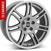 10th Anniversary Style Cobra Anthracite Wheel - 18x10 (94-04 All) - American Muscle Wheels 28350