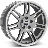Anthracite 10th Anniversary Cobra Style Wheel - 18x10 (05-14 All) - AmericanMuscle Wheels 28353