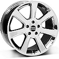S197 Saleen Chrome Wheel - 18x9 (87-93 5 Lug Conversion) - American Muscle Wheels 28355