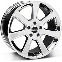 S197 Saleen Style Chrome Wheel - 18x9 (87-93 5 Lug Conversion) - American Muscle Wheels 28355