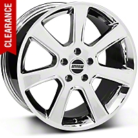S197 Saleen Style Chrome Wheel - 18x9 (94-04 All) - American Muscle Wheels 28355