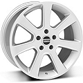 S197 Saleen Silver Wheel - 18x9 (87-93 5 Lug Conversion) - American Muscle Wheels 28356