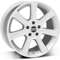 S197 Saleen Style Silver Wheel - 18x9 (87-93 5 Lug Conversion) - American Muscle Wheels 28356