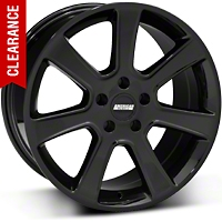 S197 Saleen Style Black Wheel - 18x9 (05-14 All) - American Muscle Wheels 28357