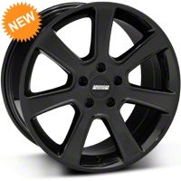 Black S197 Saleen Style Wheel - 18x9 (87-93 5 Lug Conversion) - AmericanMuscle Wheels 28357