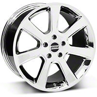 S197 Saleen Style Chrome Wheel - 18x10 (05-14 All) - American Muscle Wheels 28358