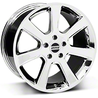 S197 Saleen Chrome Wheel - 18x10 (05-14 All) - American Muscle Wheels 28358