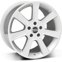S197 Saleen Style Silver Wheel - 18x10 (05-14 All) - American Muscle Wheels 28359