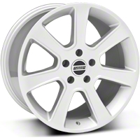 Silver S197 Saleen Style Wheel 18x10 (05-14 All) - AmericanMuscle Wheels 28359