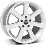 S197 Saleen Silver Wheel - 18x10 (05-14 All) - American Muscle Wheels 28359