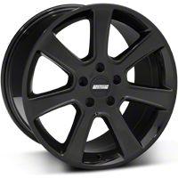 S197 Saleen Style Black Wheel - 18x10 (05-14 All) - American Muscle Wheels 28360