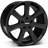 Black S197 Saleen Style Wheel 18x10 (05-14 All) - AmericanMuscle Wheels 28360