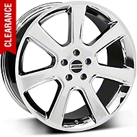 S197 Saleen Style Chrome Wheel - 20x9 (05-14 All) - American Muscle Wheels 28361