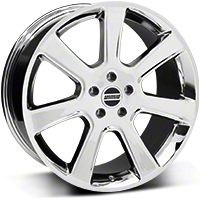 Chrome S197 Saleen Style Wheel 20x9 (94-04 All) - AmericanMuscle Wheels 28361