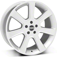 Silver S197 Saleen Style Wheel 20x9 (05-14 All) - AmericanMuscle Wheels 28362