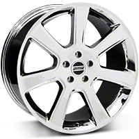 Chrome S197 Saleen Style Wheel 20x10 (05-14 All) - AmericanMuscle Wheels 28364