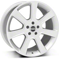 S197 Saleen Style Silver Wheel - 20x10 (05-14 All) - American Muscle Wheels 28365
