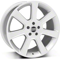 Silver S197 Saleen Style Wheel 20x10 (05-14 All) - AmericanMuscle Wheels 28365