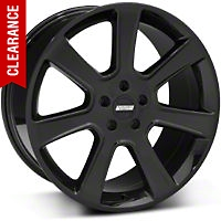 S197 Saleen Style Black Wheel - 20x10 (05-14 All) - American Muscle Wheels 28366