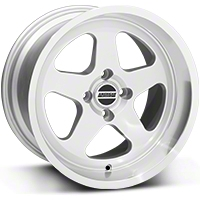 SC Silver Wheel - 17x10 (87-93; Excludes 93 Cobra)