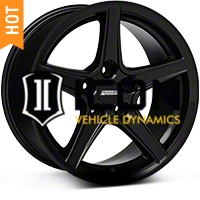 Saleen Black Wheel - 17x9 (94-04 All) - American Muscle Wheels 28384