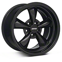 Solid Black Deep Dish Bullitt Wheel - 17x10.5 (94-04 All)