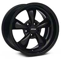 Solid Black Deep Dish Bullitt Wheel - 18x10 (94-04 All)