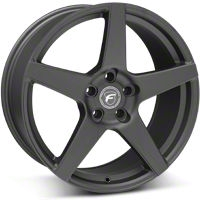 Forgestar CF5 Monoblock Matte Black Wheel - 19x9 (05-14 All) - Forgestar 1990CF5MATTEBLACK0512