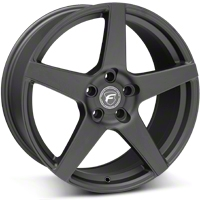 Matte Black Forgestar CF5 Monoblock Wheel - 19x9 (05-14 All) - Forgestar 1990CF5MATTEBLACK051