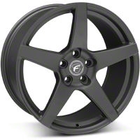 Forgestar CF5 Monoblock Matte Black Wheel - 19x10 (05-14 All) - Forgestar 1910CF5MATTEBLACK0512