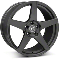 Matte Black Forgestar CF5 Monoblock Wheel - 19x10 (05-14 All) - Forgestar 1910CF5MATTEBLACK051