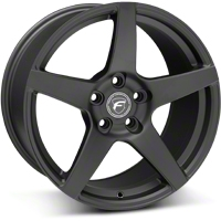 Forgestar CF5 Monoblock Matte Black Wheel - 18x10 (05-14 All) - Forgestar 1810CF5MATTEBLACK0512