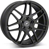 Matte Black Forgestar F14 Monoblock Wheel - 19x9 (05-14 All) - Forgestar 1990F14MATTEBLACK051