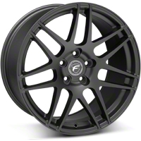 Matte Black Forgestar F14 Monoblock Wheel - 19x10 (05-14 All) - Forgestar 1910F14MATTEBLACK051
