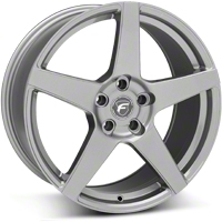 Gunmetal Forgestar CF5 Monoblock Wheel - 19x9 (05-14 All) - Forgestar 1990CF5GUNMETAL0512